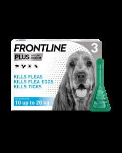 Frontline Plus Dog Medium (10-20kg) 3pk