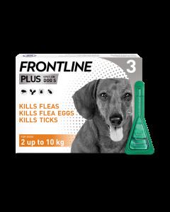 Frontline Plus Dog Small (2-10kg) 3pk