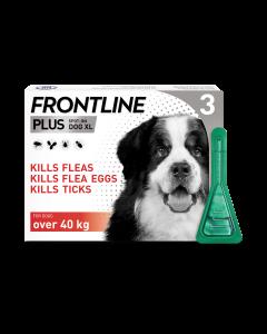 Frontline Plus Dog X-Large (40-60kg) 3pk