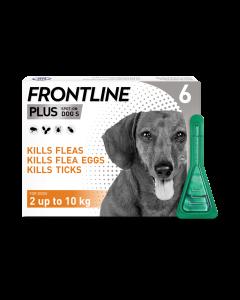 Frontline Plus Dog Small (2-10kg) 6pk