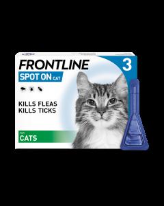 Frontline Spot On Cat Pipette 3pk