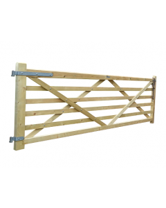 6 Bar Softwood Field Gate