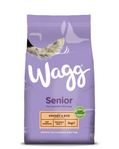 Wagg Complete Senior Chicken & Rice - 15kg
