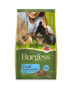 Burgess Supa Excel Rabbit Junior - 2kg