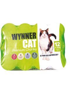 Wynner Cat Food Tins 12 x 400g