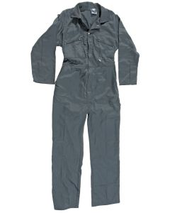 Castle Zip Front Overall Green