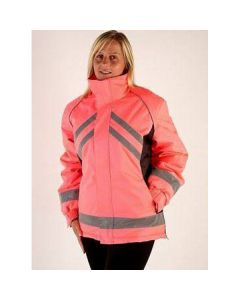 HyViz Waterproof Riding Jacket Pink