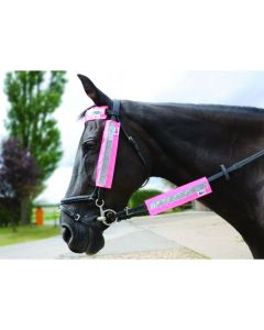 HyViz Bridle Set One Size Pink