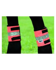Hy-Viz Leg Bands Pink Cob/Full