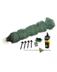 Rutland Poultry Green Electric Fence Net Kit 25m