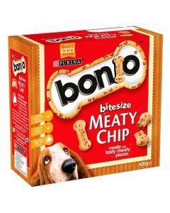 Bonio Meaty Chip Bitesize 400gm
