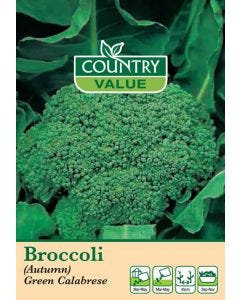 Country Value Broccoli (Autumn) Green Calabrese