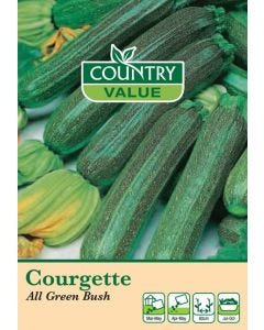 Country Value Courgette All Green Bush