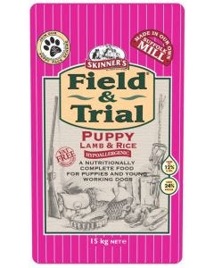 Skinners Field & Trial Puppy Lamb and Rice 15kg