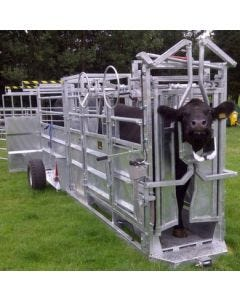 Bateman Cattle Handling Trailer