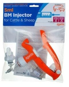 Zoetis Sheep/Cattle BM Injector 5ml