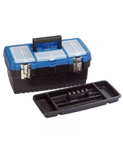 Draper Tool Organiser Box with Tote Tray 400mm