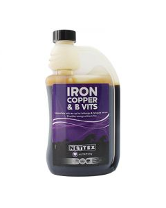 NETTEX Iron, Copper &  Vitamin B 500ml