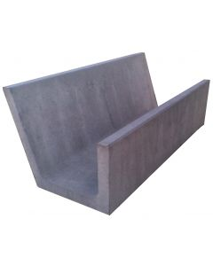SMP Concrete Feed Trough - Single Sided