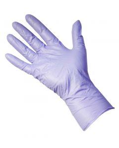Violet Ultrasafe Nitrile Powder-Free Gloves (Box of 50)