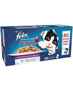 Felix 'As Good as it looks' Mixed Pack 40 x 100g Senior