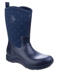Muckboot Arctic Weekend Navy Quilt