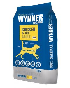 Premium Complete Wynner Dog Food Chicken & Rice Adult 12kg