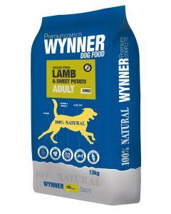 Premium Complete Wynner Dog Food Grain Free Lamb & Sweet Potato Adult 12kg