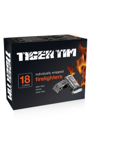 Tiger Tim Individually Wrapped Firelighters
