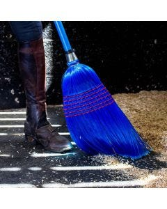 Red Gorilla Deluxe Corn Brooms Blue