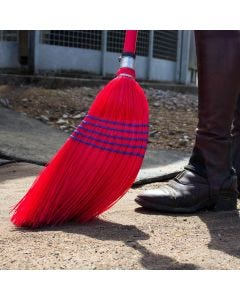 Red Gorilla Deluxe Corn Brooms Red