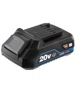 Draper 20V Lithium Battery 2.0Ah (Storm Force)