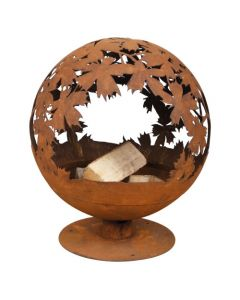 Leaf Design Fire Globe