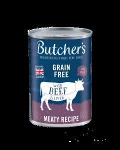 Butchers Beef & Liver 12 x 400g