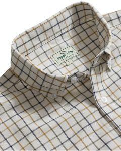 Hoggs of Fife Berwick Short Sleeve Tattersall Shirt