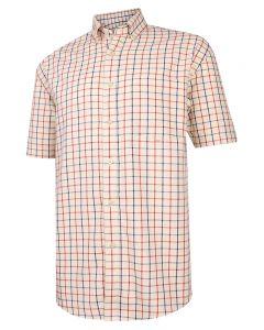 Hoggs of Fife Sunningdale Short Sleeve Cotton Shirt