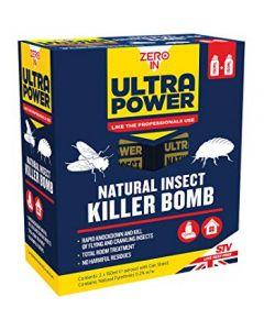 Natural Insect Killer Bomb 150ml Aerosol 2 Pack