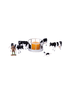 Britains Cattle Feeder Set and Charolais Cow
