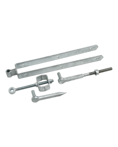 Field Gate Set with Adjustable Bottom Fittings