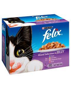 Felix Pouch Mixed 4 x 12 pack