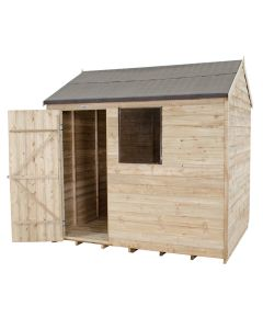 Reverse Apex Overlap Shed 8 x 6ft