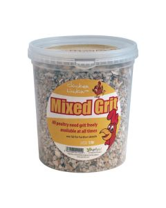 Agrivite Mixed Poultry Grit 3L Tub