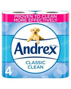 Andrex 4 Roll Toilet Tissue