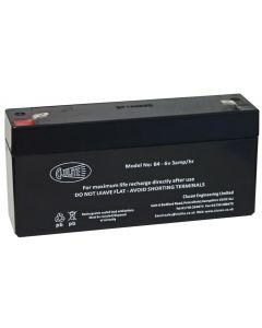B4 6V 2.8AMP Battery