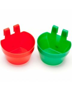 Poultry Cage Cup - Assorted Colours