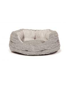 Bobble Grey Deluxe Slumber Dog Bed