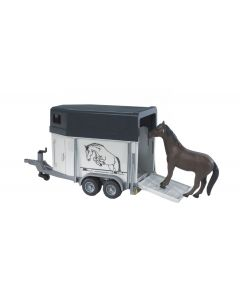 Bruder Horse Trailer with Horse