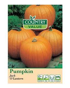 Country Value Pumpkin Jack O'Lantern