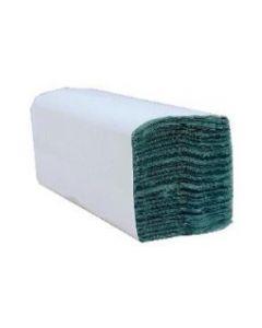 C Fold Green Hand Towels