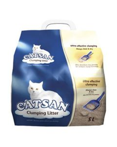 Catsan Clumping Cat Litter - 5 Litre